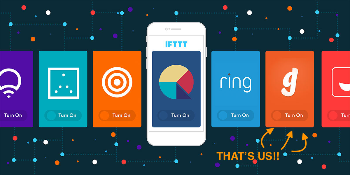 IFTTT - Garageio in app integration
